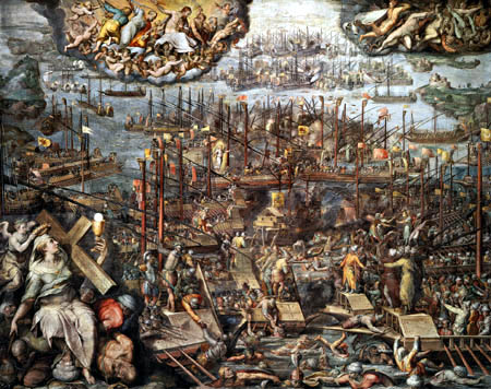 battle of lepanto essay The siege of malta, the battle of lepanto, and the contest for the center of the  world  and is supplemented with two interesting essays by chesterton himself.