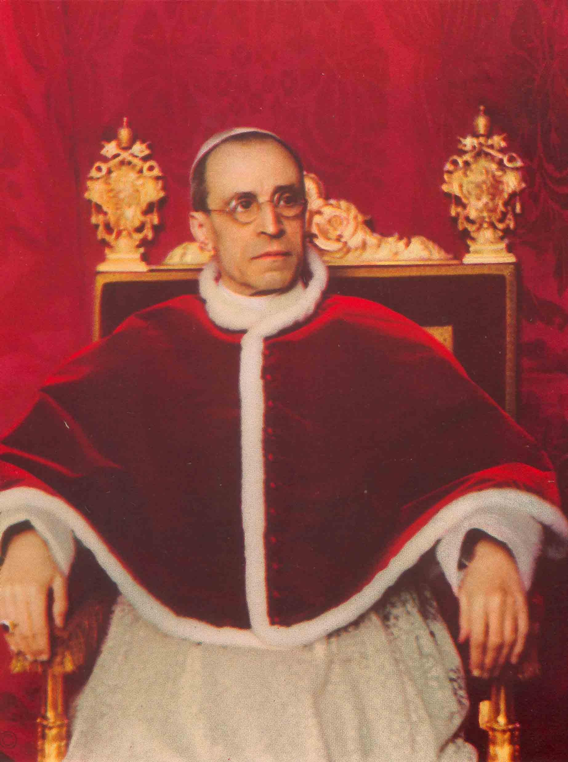 a biography of pius xii a catholic pope