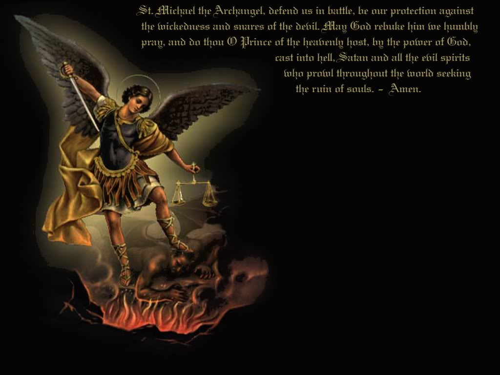 Must see Wallpaper Home Screen Supernatural - st_michael_1024x768  Graphic_502093.jpg