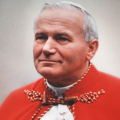 Rather stubborn when he wanted: John Paul II.