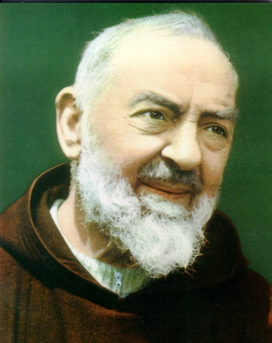 Saint Padre Pio, pray for us!