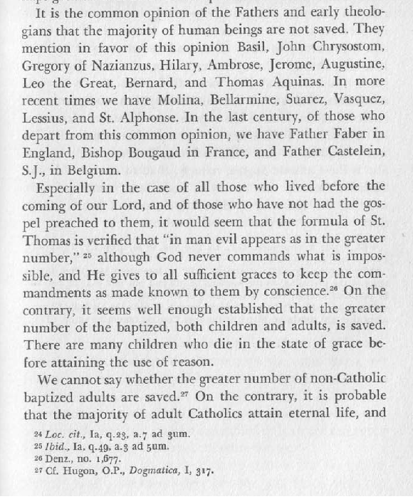 Garrigou-Lagrange in action..