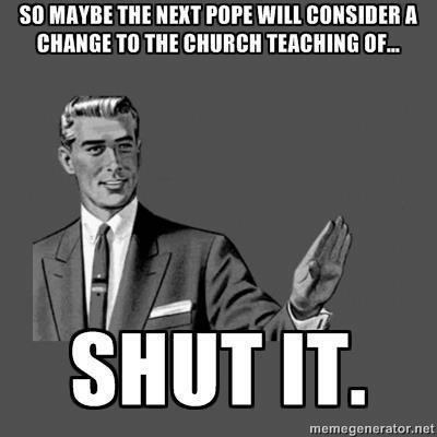 pope change