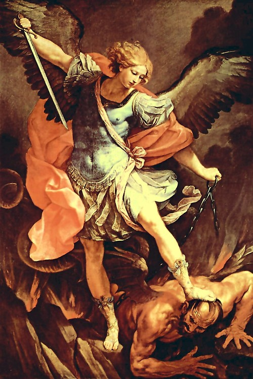 Extremely busy: St. Michael the Archangel.