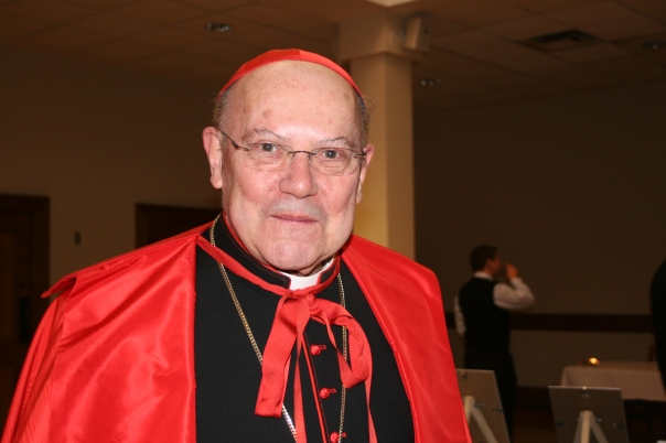 Cardinal Levada at his best, with mouth shut.