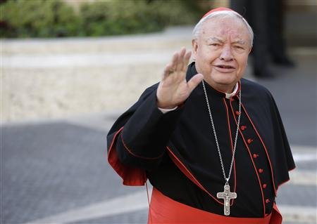 And a good day to you, Your Eminence! Cardinal Sandoval