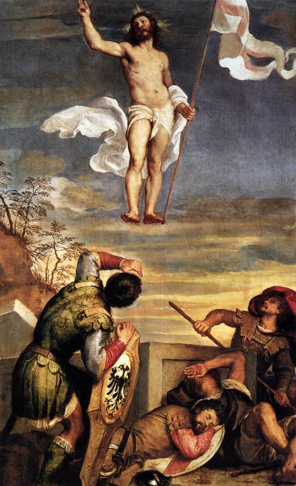 Tiziano, Resurrection.