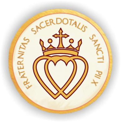 Latin: FSSPX.  English: SSPX.  Italian: Grazie!