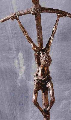 Lello Scorzelli's crucifix.