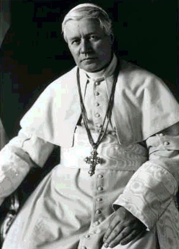 When Popes didn't waffle: St. Pius X
