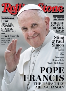 Here we can see the anger of the secular press upon discovering Francis is the Pope after all...