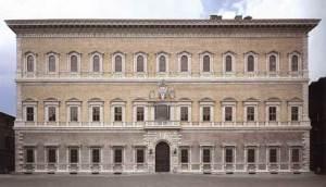 Palazzo Farnese, Piazza Farnese, Rome.
