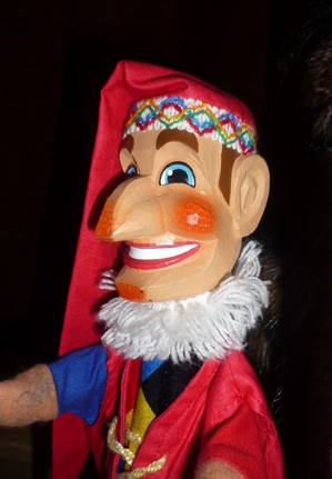 Now it's official: Cardinals don't like puppet shows; at least those with Kasperle, hier depicted.