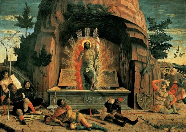 "Andrea Mantegna, ""Resurrection"""