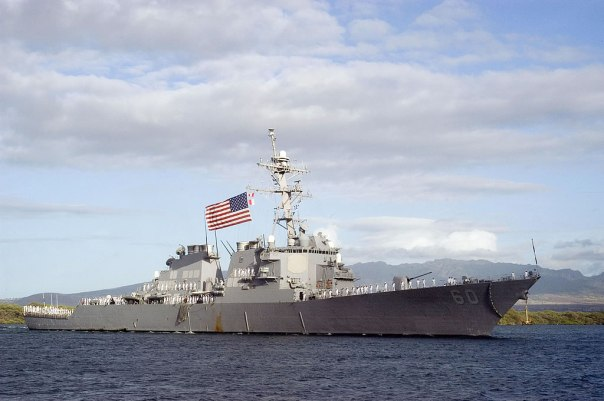 Destroyer, United States.