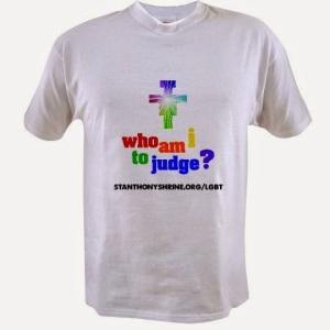 Fag Franciscan shirt.