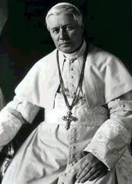 St. Pius X, pray for us!