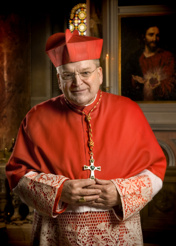 First and Bravest of the Brave: cardinal Burke.