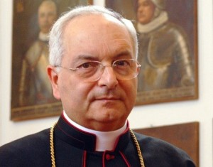 Cardinal Piacenza also spoke (though very late...)