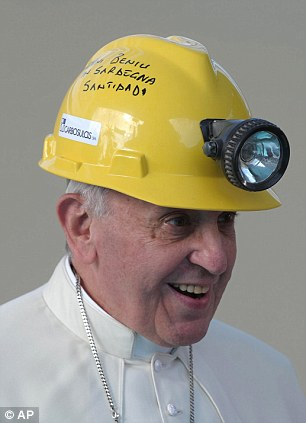 The Holy Father had decided to take some precautions...