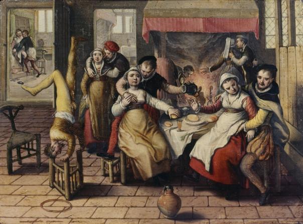 The Synod as seen by Joachim Beuckelaer...