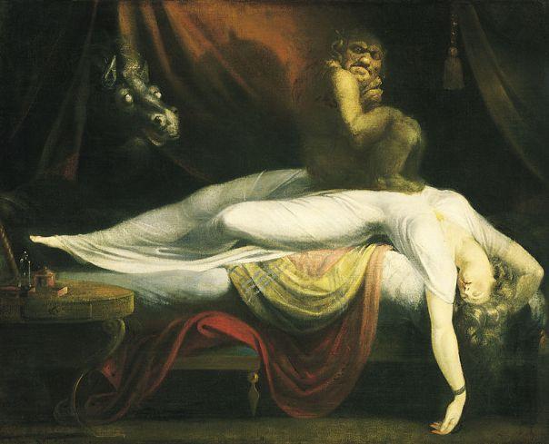 "John Henry Fuseli: ""The Nightmare""."