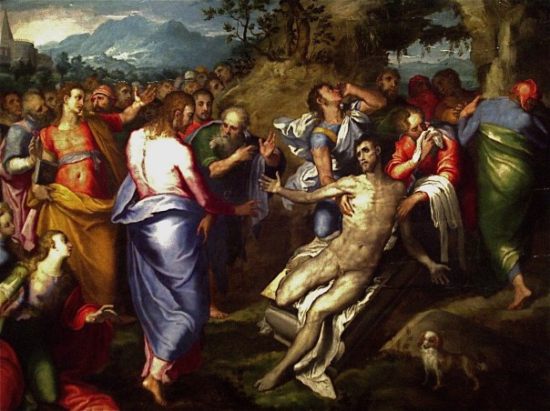 Marco Pino: The Resurrection of Lazarus.