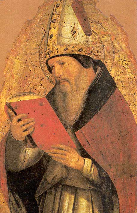 Homophobis hater: St Augustine of Hippo.