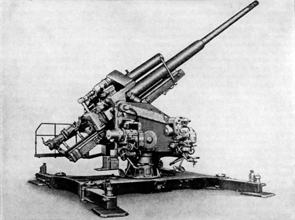 """A Flugzeugabwehrkanone, or """"air defence cannon"""". In short: Flak."""