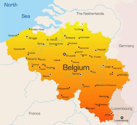 belgium-in-europe