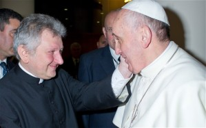 Whenever Monsignor Ricca saw Pope Francis, global warming increased...