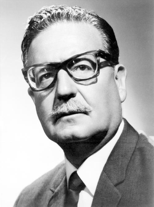 Hhmm... what shall I say about Salvador Allende?