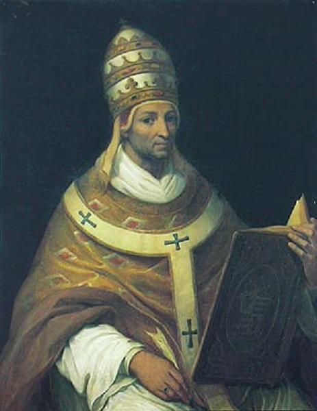 Francis ante litteram: Pope John XXII, heretical bully almost until the end.