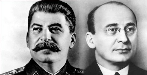 Stalin and Beria are at work again.