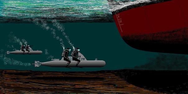 Catholic X Flottiglia MAS in action.