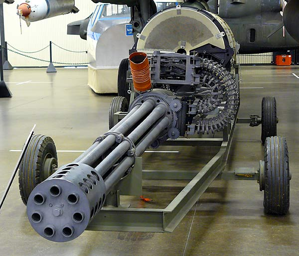 "Be a Catholic GAU-8/A ""Avenger""."