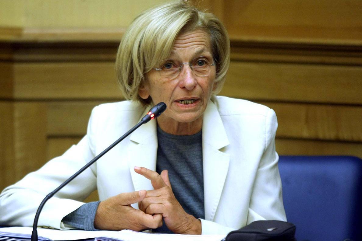 Foto LaPresse 13 11 2011 politica Governo Monti, il totoministri nella foto Emma Bonino Foto di repertorio