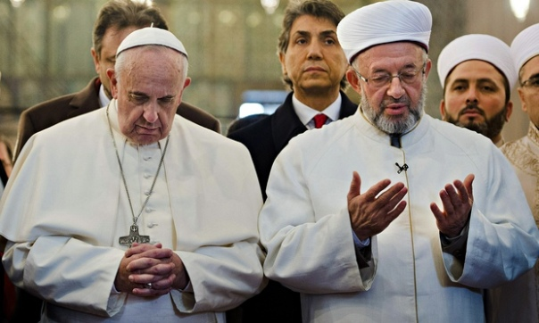Pope Francis and Grand Mufti Yaran