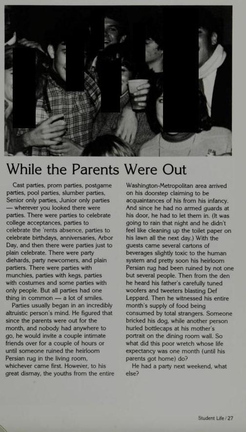 parents out